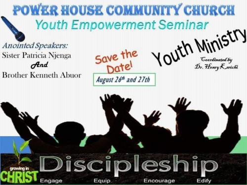 a Youth Empowerment Seminar