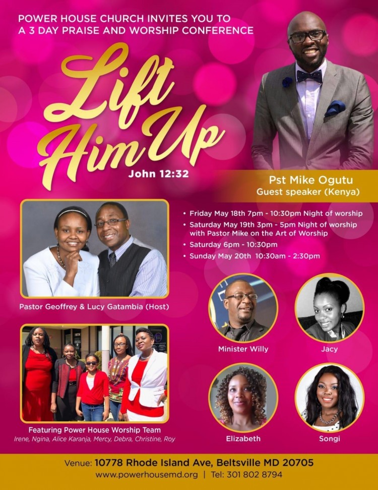 Lift Him Up poster